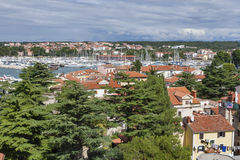 Novigrad cityscape and marina, Istria, Croatia Royalty Free Stock Photography