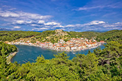 Novigrad Dalmatinsky bay nature view Stock Images