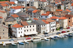 Novigrad fisher village, Croatia Stock Images