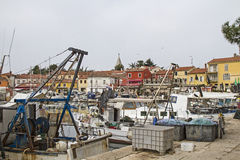 Novigrad in Istria. The idyllic fishing village of Novigrad is situated on a peninsula on the west coast of Istria royalty free stock photos