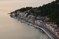 Novigrad in Kroatien Stockfotografie