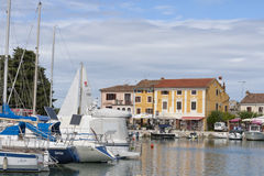 Novigrad marina in Croatia Stock Photo