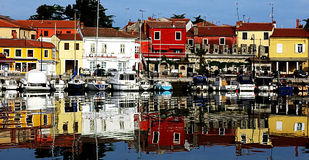 Novigrad Marina, Croatia Royalty Free Stock Images