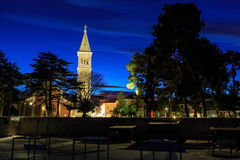 Novigrad before the sunrize at dawn Stock Photography