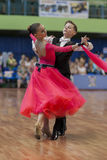 Novikov Yaroslav and Murza Alina Perform Juvenile-1 Standard European Program Royalty Free Stock Photography