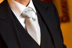 Vestido del novio Imagen de archivo libre de regalías