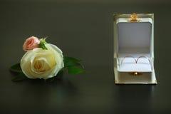 Novio del boutonniere de los accesorios de la boda Fotografía de archivo