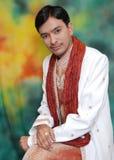 Novio indio atractivo Imágenes de archivo libres de regalías