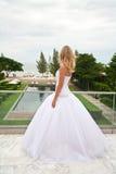Novio que espera de la novia para. Imágenes de archivo libres de regalías