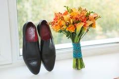 Novio Shoes Imagen de archivo