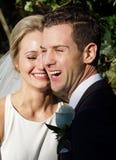 Novio Wedding de la novia imagenes de archivo