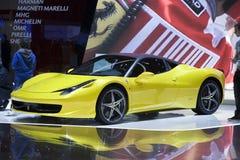 Novitec Rosso Ferrari 458 Italia Stock Image