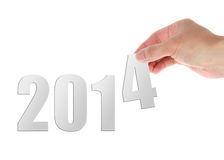 2014 novo Fotografia de Stock Royalty Free