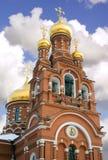Novo Alexeevsky monastery, Moscow Stock Photos