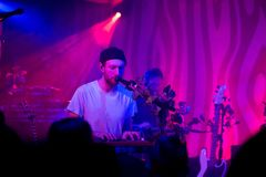 Novo Amor Performance at Doug Fir Portland Oregon royalty free stock images