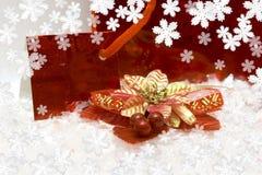 Novo-ano festivo postal fotos de stock