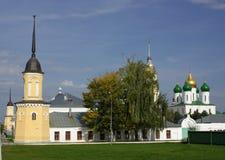 Novo-golutvinskiy monastery in Kolomna Stock Photography