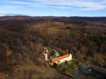 Novo Hopovo monaster blisko Irig, Serbia zdjęcia stock