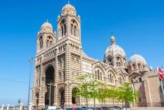 Novo Major Cathedral de Marselha Fotos de Stock Royalty Free