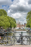 Novo mercado em Amsterdão, Países Baixos Foto de Stock
