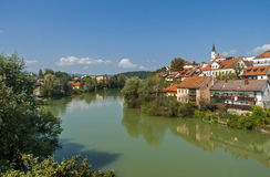 Novo-mesto Stadt, Slowenien Stockfoto