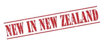 Novo no selo de zealand ilustração royalty free