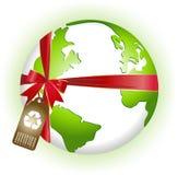 Novo Terra-Recicl Ilustração Royalty Free