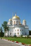 Novo-Tikhvin Nonnenkloster in Yekaterinburg, Russland lizenzfreie stockfotos