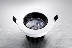 Novo tipo de bulbo do diodo emissor de luz, lâmpada conduzida, ampola, iluminação conduzida Fotografia de Stock Royalty Free
