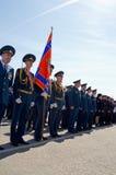 Novocheboksarsk, Rusland - Mei 9, 2016: Viering van Victory Da Stock Foto's