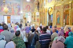 Novocheboksarsk, Russia - August 16, 2015: the meeting of the ar. Novocheboksarsk, Chuvashia, Russia - August 16, 2015: the meeting of the ark with the relics of stock photography