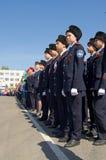 Novocheboksarsk Ryssland - Maj 9, 2016: Beröm av Victory Da Royaltyfri Foto