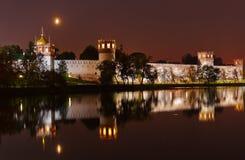 Novodevichiy女修道院在莫斯科俄国 免版税库存照片