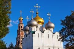 Novodevichiy女修道院在莫斯科俄国 库存图片