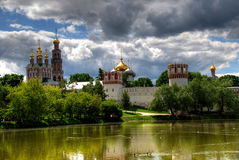 Novodevichiy convent, Moscow Royalty Free Stock Photos