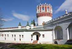Novodevichiy convent, Moscow Royalty Free Stock Images