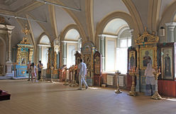 Novodevichiy convent, Moscow Stock Photography