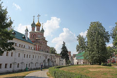 Novodevichiy convent, Moscow Stock Image