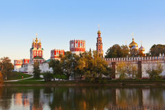 Novodevichiy convent in Moscow Russia Royalty Free Stock Images