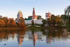 Novodevichiy convent in Moscow Russia Royalty Free Stock Photo