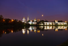Novodevichiy convent in Moscow Russia Royalty Free Stock Photos