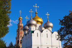 Novodevichiy convent in Moscow Russia Stock Image