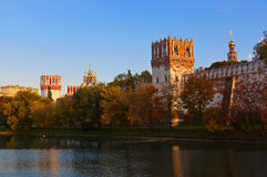 Novodevichiy convent in Moscow Russia Stock Photography