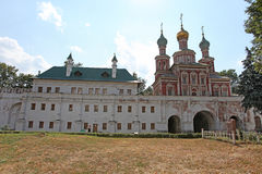 Novodevichiy convent, Moscow Stock Photo