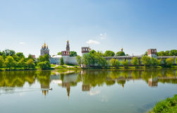 Novodevichiy Kloster, Moskau Stockbilder