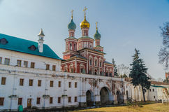 In novodevichiy monastery Royalty Free Stock Photography