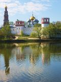 Novodevichiy monastery, Moscow Stock Images