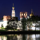 Novodevichiy monastery, Moscow, Russia. Stock Images
