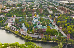 Novodevichiy monastery in Moscow, Russia Royalty Free Stock Photos