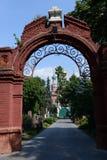Novodevichy公墓是其中一个最著名的掩埋处在莫斯科 库存照片